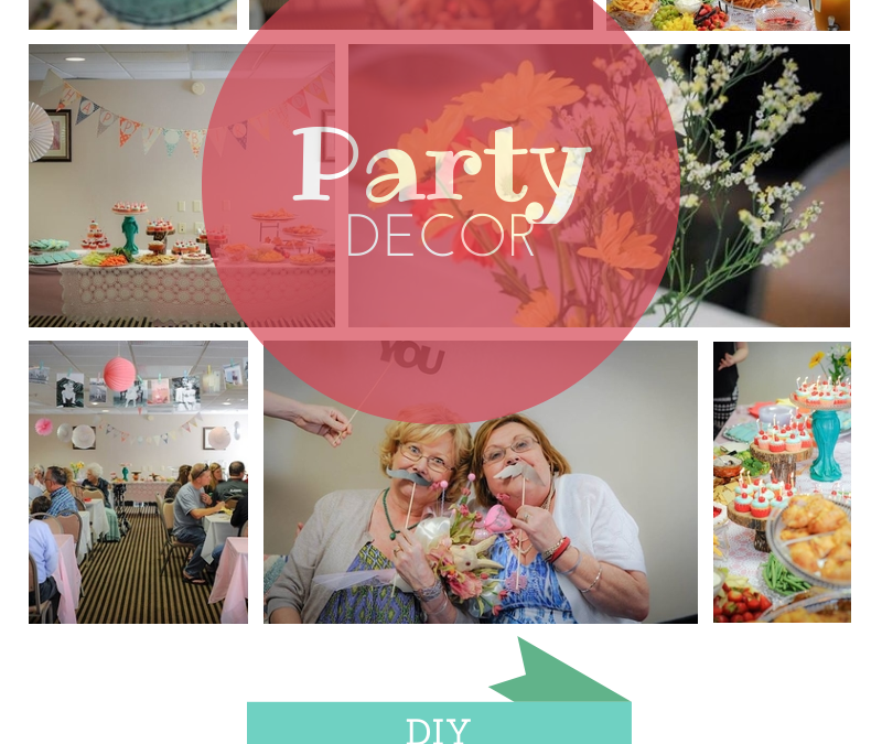 DIY party decor on a budget