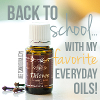 Back to School with my FAVORITE Everyday Oils!
