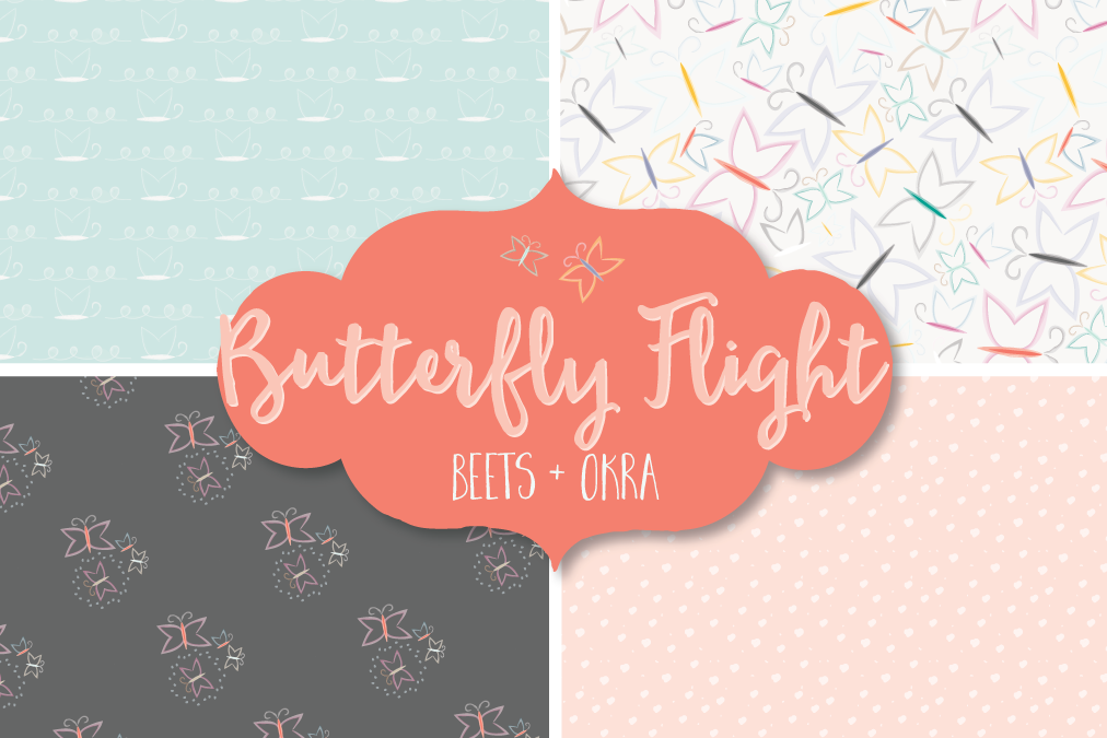 Butterfly Flight Spoonflower Challenge